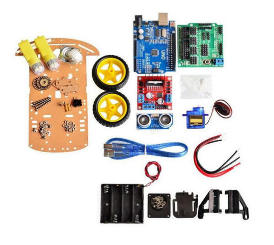 Smart Robot 2WD Car Chassis Kit With Avoidance Tracking
